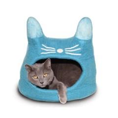 [다르마독 카르마캣] 고양이얼굴 모양 하우스 (Mint)