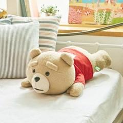 19곰 테드 라잉 대형 곰인형 레드 50CM_(861733)