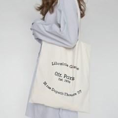 Letter both side cotton bag
