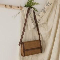 classic square rattan bag