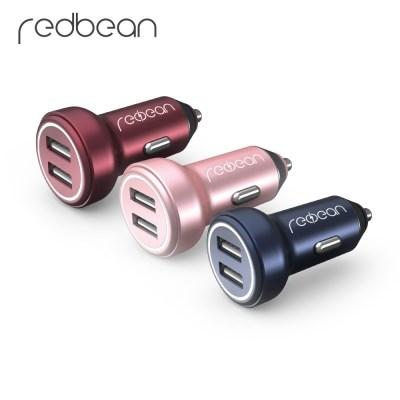 레드빈 2포트 차량용 고속 충전기