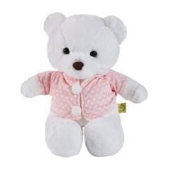 이젠돌스 후드티 입은 곰인형 이젠곰2.0 핑크_(854973)