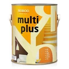 멀티플러스 다용도 페인트 반광 4L