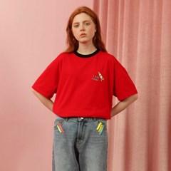 [NCOVER] Rocket Tshirt-red