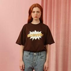 [NCOVER] Pop Tshirt-brown