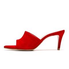 edge point mule red-7cm (양가죽)