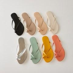 cross strap flip-flop