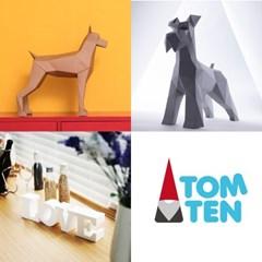 [톰텐]어린이날선물추천DIY 함께만들어요 동물2종+이니셜LOVE