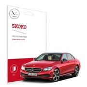 스코코 벤츠 E220D 네비게이션 저반사 보호필름 2매_(585550)
