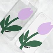 연보라 튤립 (KIJU) - 젤리/하드케이스