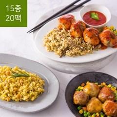가벼운 칼로리 포켓도시락 1일3식 세트(15종 20팩(1주일))