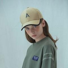 [어나더프레임]A LOGO LINE BALL CAP (BEIGE)_(812608)