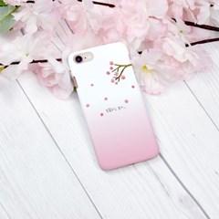 벚꽃피는 날 하드/이중범퍼/카드슬라이드 케이스