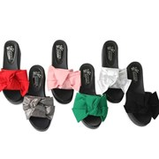 kami et muse Over ribbon platform slippers_KM18s185