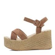 kami et muse Suede strap platform wedge sandals_KM18s184