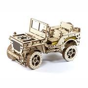 [WOODEN CITY] 지프차(Jeep Car 4x4)