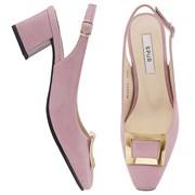 SPUR[스퍼] 슬링백 MS9052 Bronze frame sling back 핑크