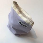 아에이오우 Aeiou Basic Pouch (M size) very light purple