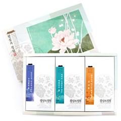 [왕실의 정원] 3종 선물세트-꾸박귤 (18티백)