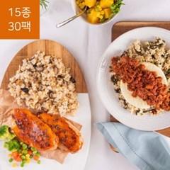 가벼운 칼로리 포켓도시락 황제거지평민 세트 (15종 30팩)