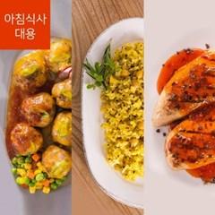 가벼운 칼로리 포켓도시락 아침대용식 세트(7종14팩(1주일))