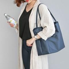 코니테일 엘 숄더백 - 네이비 (가벼운 출산가방 기저귀가방이너백)