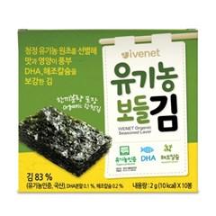 아이배냇 유기농 순 보들김 2g x 10봉