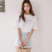 [로코식스] 아트 레터링 티셔츠_(793159)