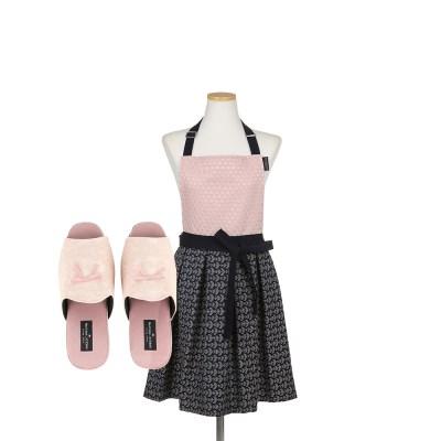 [마틴싯봉리빙] 핑크 앞치마&슬리퍼 키친SET_(801266911)