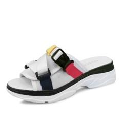 kami et muse Clip color strap mash slippers_KM18s187