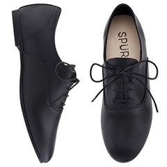 SPUR[스퍼] 옥스포드MS7048 Lining less leather oxford 블랙