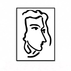 패브릭 포스터 인테리어 그림 액자 앙리 마티스 #5