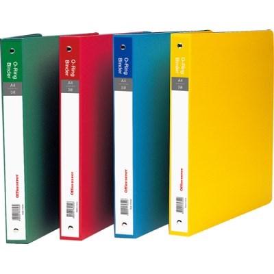 3공O링바인더(색지/적색/OfficeDEPOT)