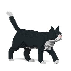 [JEKCA] 걷는 고양이레고 (턱시도)