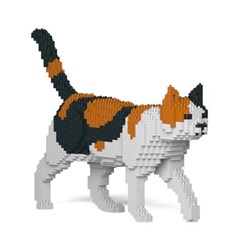[JEKCA] 걷는 고양이레고 (삼색이)