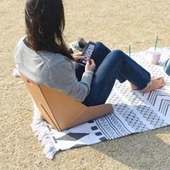 토트 종이 등받이 의자 1+1