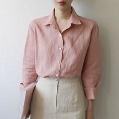 라미 컬러 베이직 셔츠 (6-COLORS)