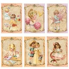 vintage children 6종 사진세트