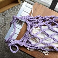 [텐텐클래스] (부산) 코바늘로 만드는 패브릭얀 가방