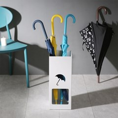 디자인 인테리어 메탈 에코프랜 우산꽂이 사각타입