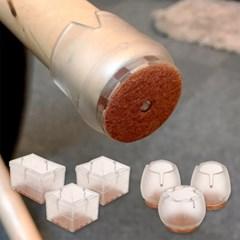 시바타 소음방지 의자발커버 4개세트
