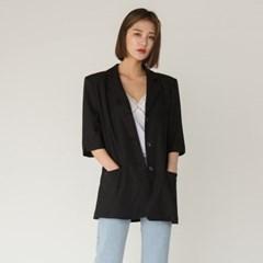 classic mood 6-length sleeve jacket