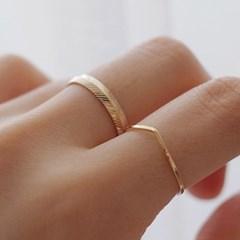 Layered ring set 014
