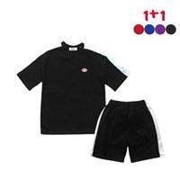 [1+1]Plan B T-shirt+Plan B Track Shorts