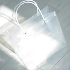 투명 아크릴 쇼핑백 (대)_(301528469)