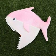 상어가족 모자 (핑크/엄마)_(301526281)