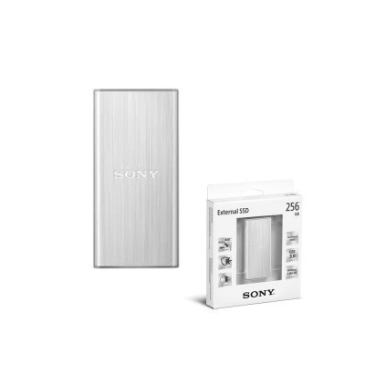[소니] SL-BG2/외장SSD/256G/USB3.0/2.0/450MB/실버