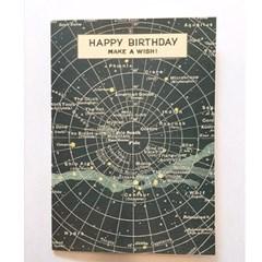 카발리니 카드-Happy birthday celestial
