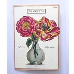 카발리니 카드-Thak you fleur2
