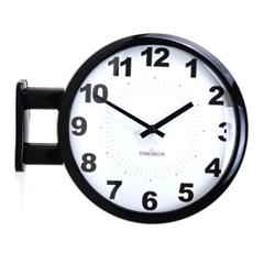 모던 양면시계 A6 양면벽시계